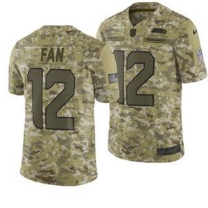 NWT Seattle Sewhaws FAN salute to service Jersey